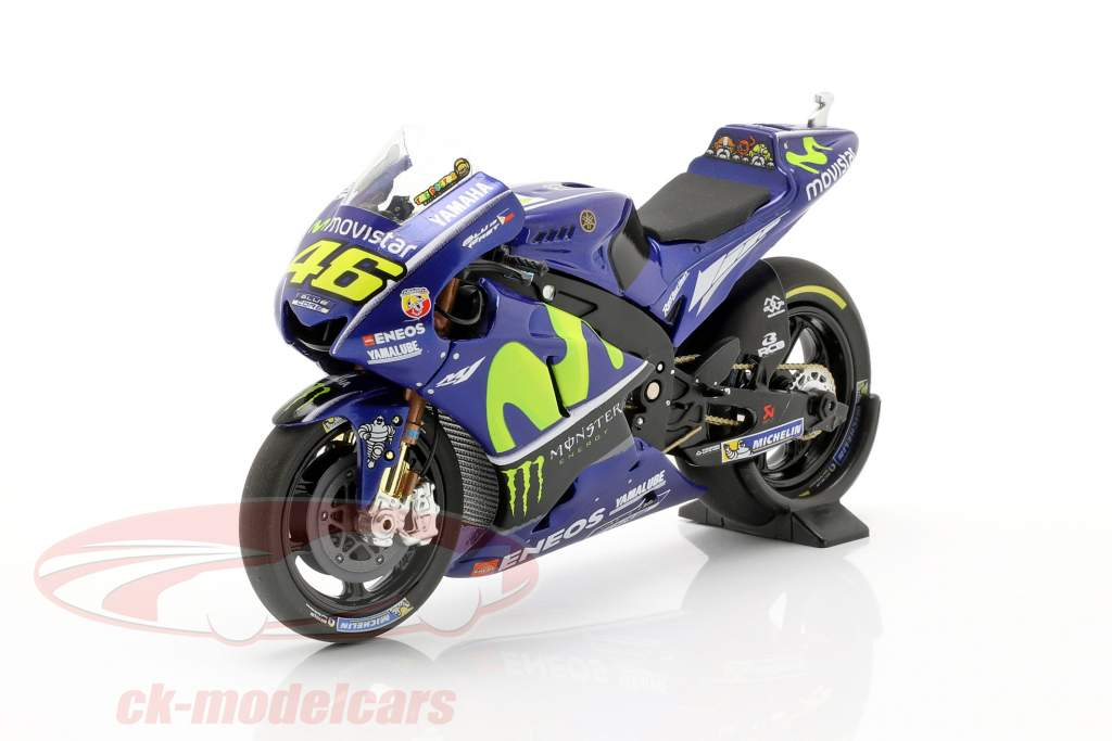 Valentino Rossi Yamaha YZR-M1 #46 Winner MotoGP Assen 2017 1:18 Minichamps