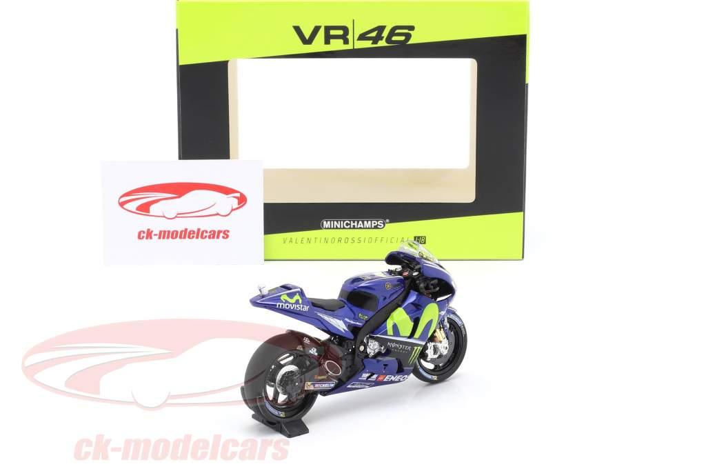 Valentino Rossi Yamaha YZR-M1 #46 MotoGP 2017 1:18 Minichamps