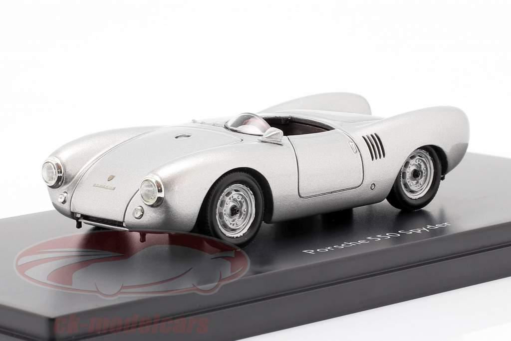 Porsche 550 Spyder Année de construction 1954 argent 1:43 Schuco