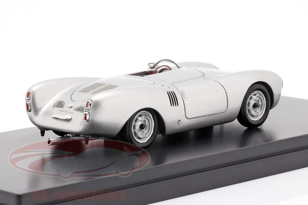 Porsche 550 Spyder Bouwjaar 1954 zilver 1:43 Schuco