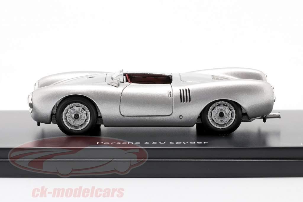 Porsche 550 Spyder Anno di costruzione 1954 argento 1:43 Schuco