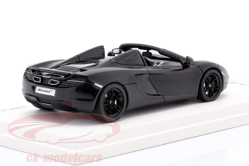 McLaren MP4-12C Spider LHD Year 2012 carboxylic black 1:43 TrueScale