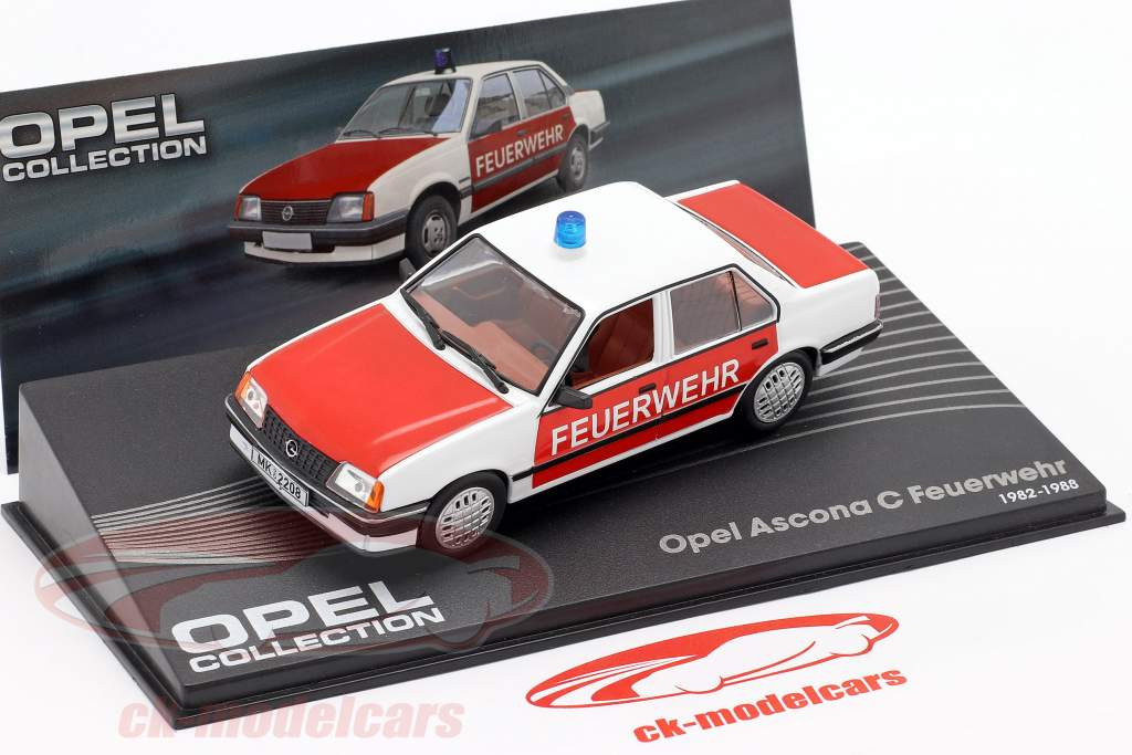 Opel Ascona C Brandvæsen år 1982-1988 1:43 Altaya