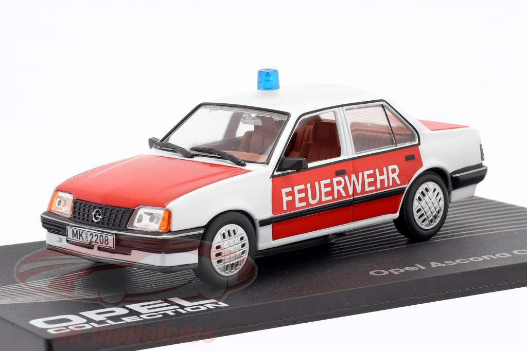 Opel Ascona C Feuerwehr Baujahr 1982-1988 1:43 Altaya