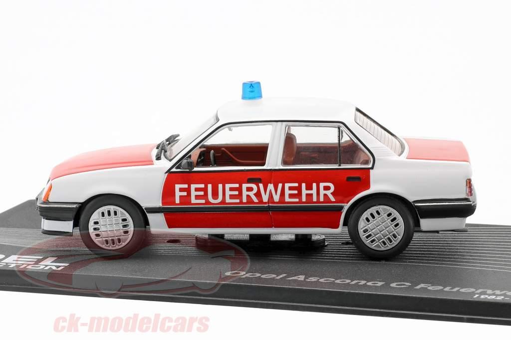 Opel Ascona C El departamento de bomberos año 1982-1988 1:43 Altaya