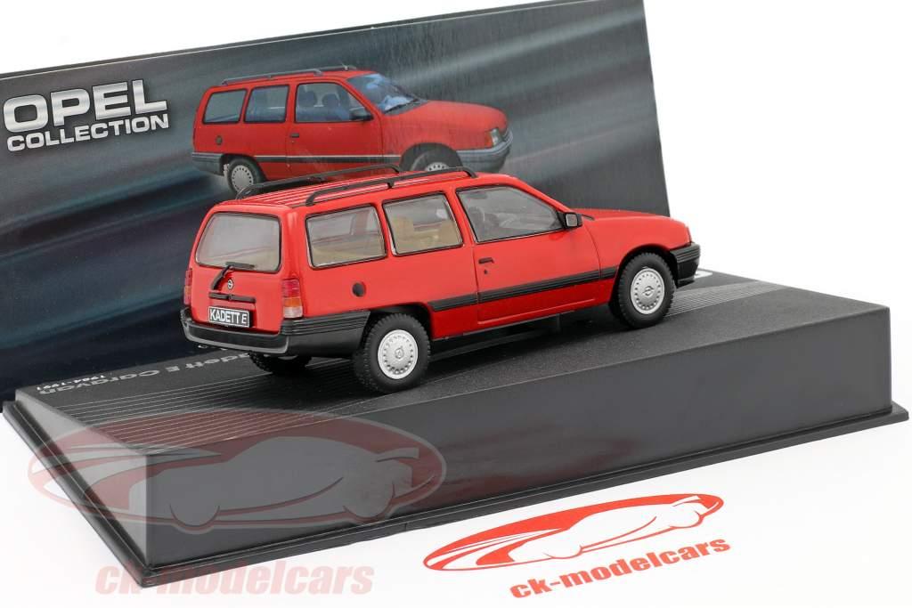 Opel Kadett E Caravan Baujahr 1984 rot 1:43 Altaya