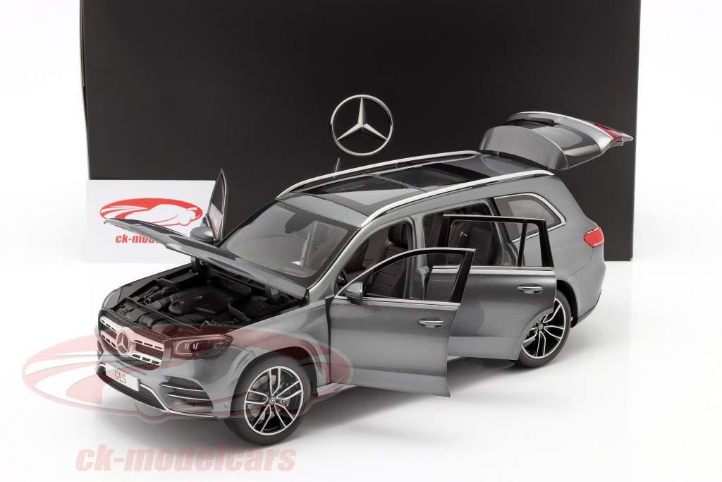 Mercedes-Benz GLS klasse (X167) Byggeår 2019 selenit Grå 1:18 Jaditoys