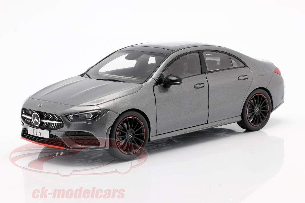 Mercedes-Benz CLA Coupé (C118) year 2019 mountain Gray 1:18 Z-Models