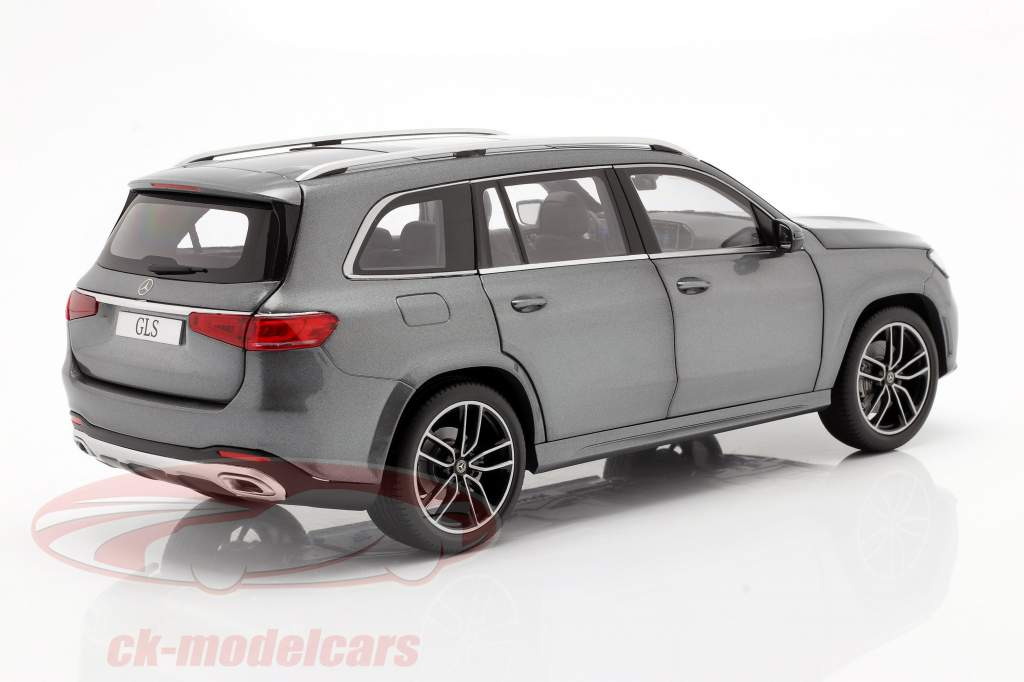 Mercedes-Benz Clase GLS (X167) Año de construcción 2019 selenita gris 1:18 Jaditoys