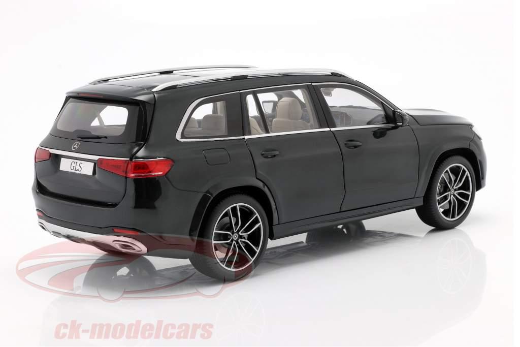 Mercedes-Benz Clase GLS (X167) Año de construcción 2019 verde esmeralda 1:18 Jaditoys