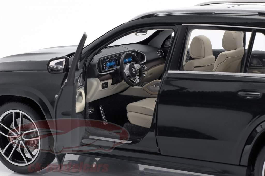 Mercedes-Benz GLS klasse (X167) Byggeår 2019 Smaragd grøn 1:18 Jaditoys