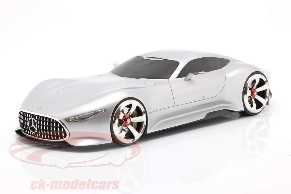 Mercedes-Benz AMG Vision Gran Turismo 2013 sølv metallisk 1:12 Schuco