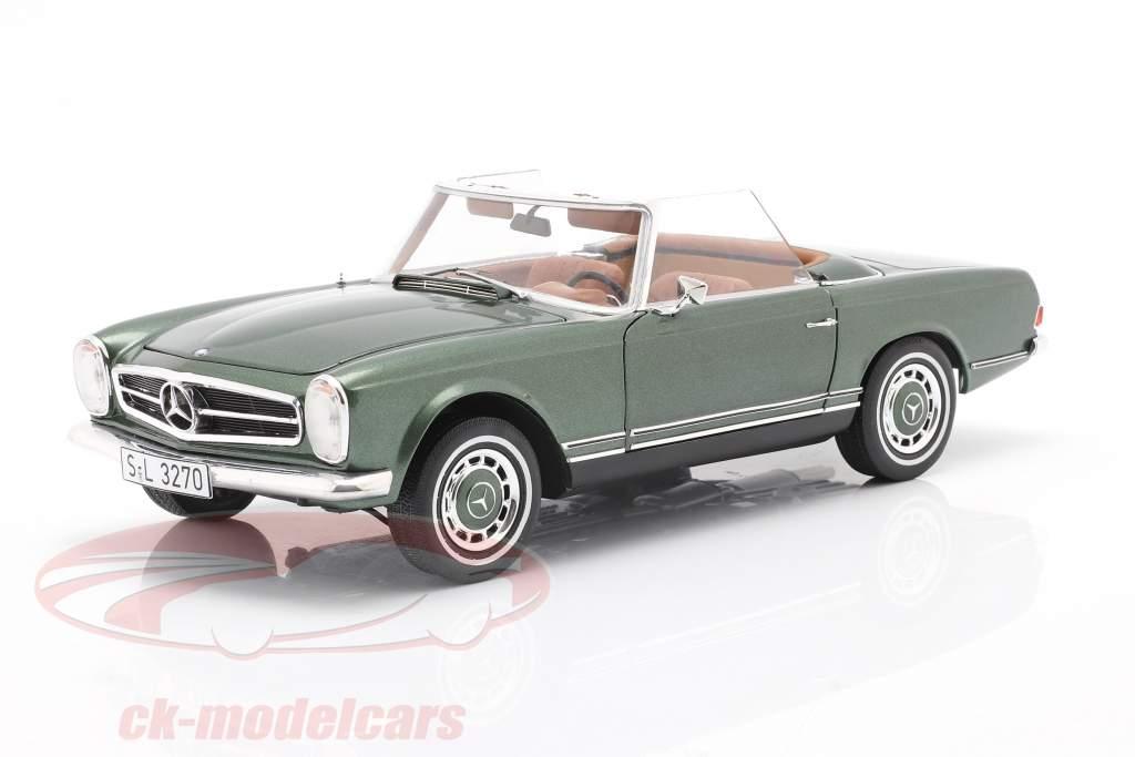 Mercedes-Benz 280 SL Pagode (W113) Baujahr 1963 - 1971 grün 1:18 Schuco