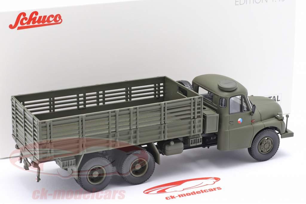 Tatra T148 皮卡车 军事 CSSR 橄榄绿 1:43 Schuco