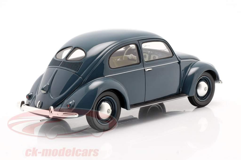 Volkswagen VW Pretzel beetle 1948 - 1953 blue 1:18 Schuco