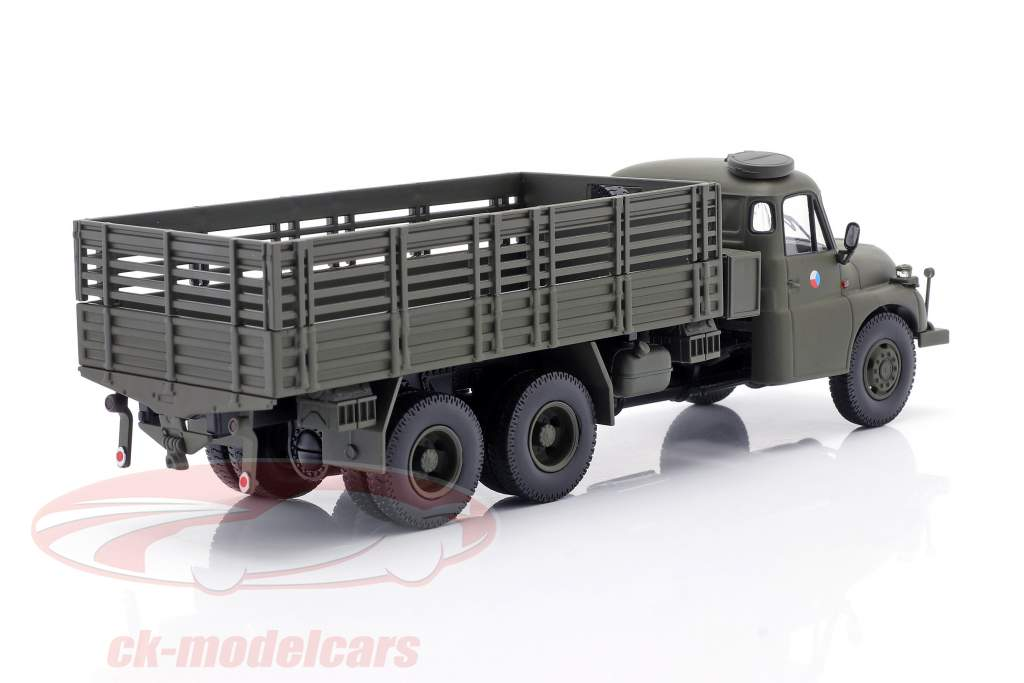 Tatra T148 Pickup truck military CSSR olive green 1:43 Schuco