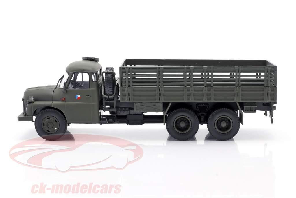 Tatra T148 Pritschenwagen Militär CSSR olivgrün 1:43 Schuco
