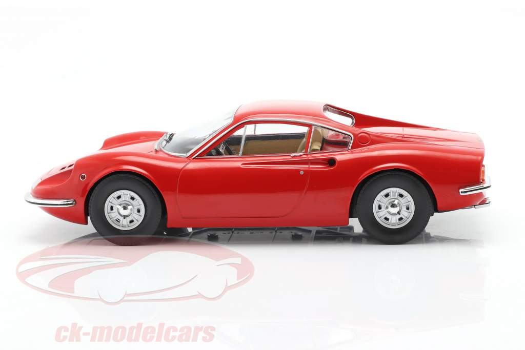 Ferrari Dino 246 GT Año de construcción 1969 rojo 1:18 Model Car Group