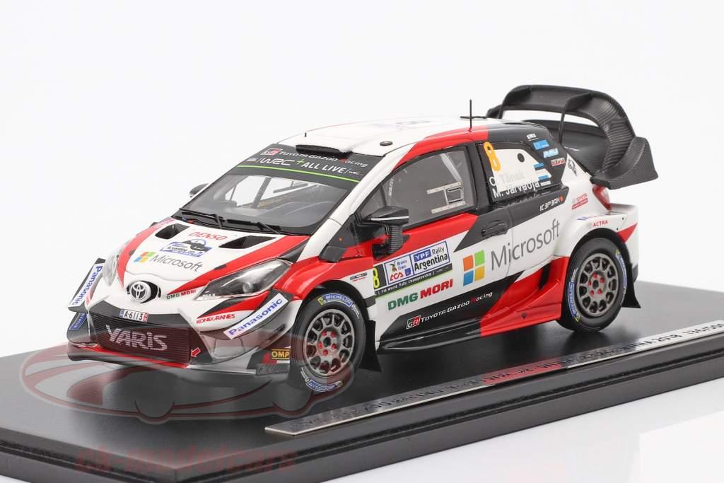 Toyota Yaris WRC #8 vincitore Rallye Argentina 2018 Tänak, Järveoja 1:43 Spark