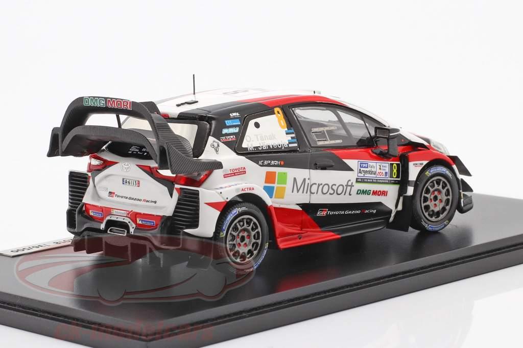 Toyota Yaris WRC #8 winnaar Rallye Argentinië 2018 Tänak, Järveoja 1:43 Spark