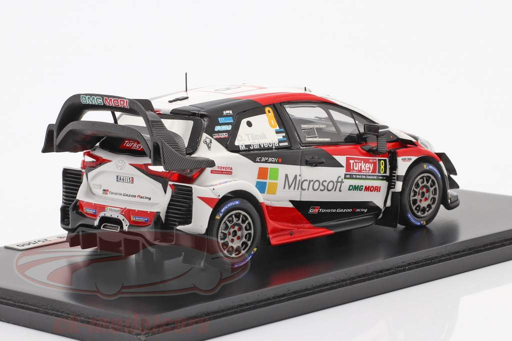 Toyota Yaris WRC #8 vincitore Rallye tacchino 2018 Tänak, Järveoja 1:43 Spark