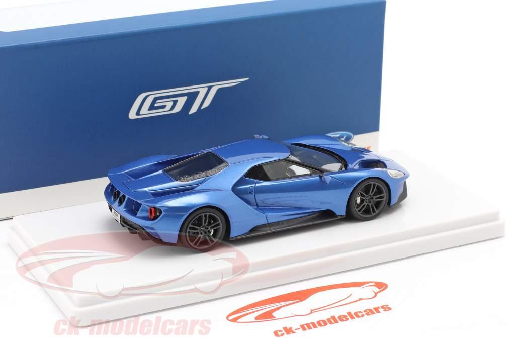 Ford GT Showcar blau metallic 1:43 TrueScale