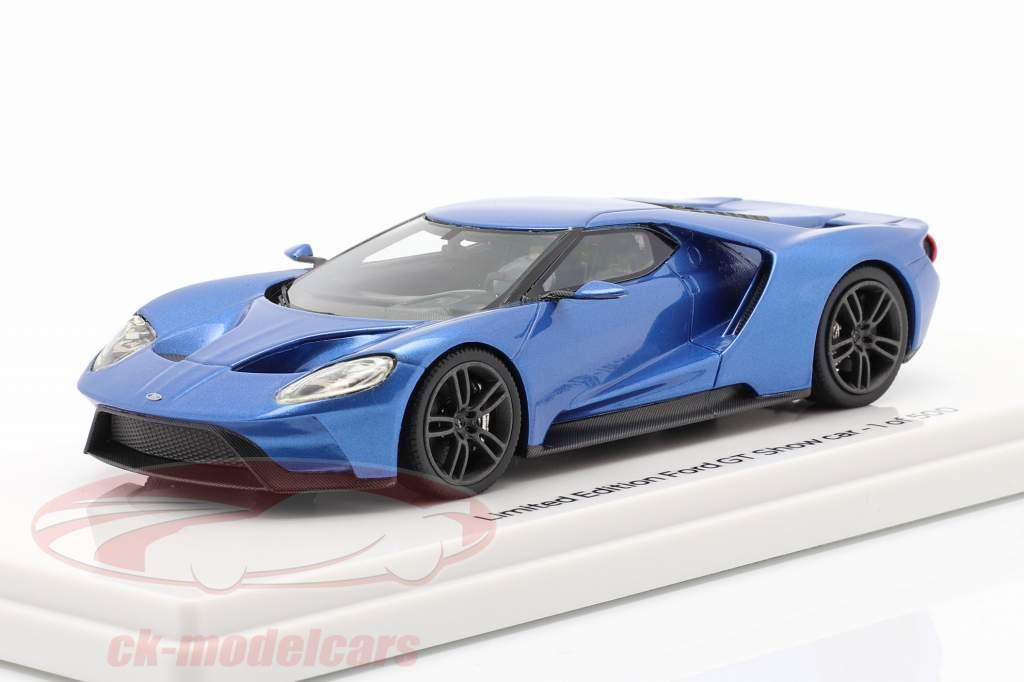Ford GT Showcar blue metallic 1:43 TrueScale