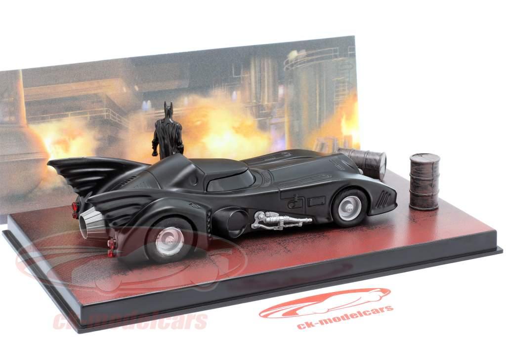 蝙蝠车 Moviecar 蝙蝠侠 1989 黑 1:43 Ixo Altaya