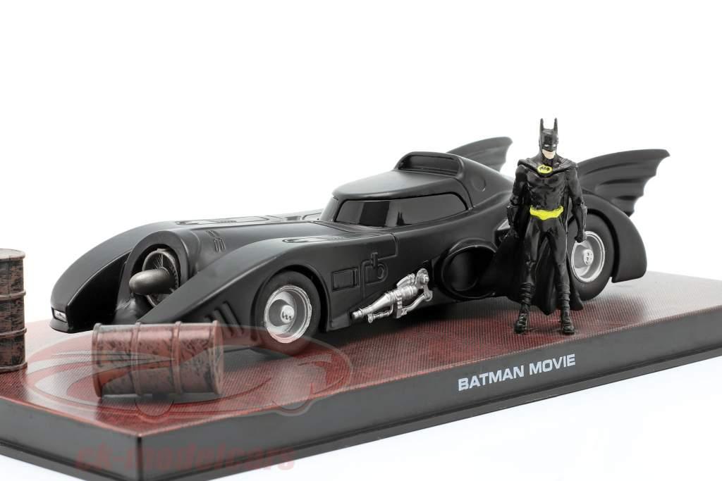 Batmobile Moviecar Batman 1989 noir 1:43 Ixo Altaya
