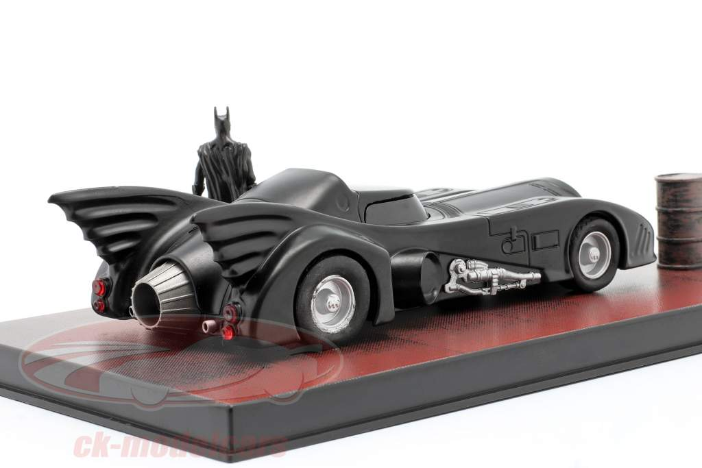 Batmobile Moviecar Batman 1989 negro 1:43 Ixo Altaya
