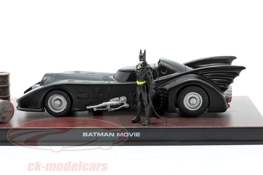 Batmobile Moviecar Batman 1989 sort 1:43 Ixo Altaya