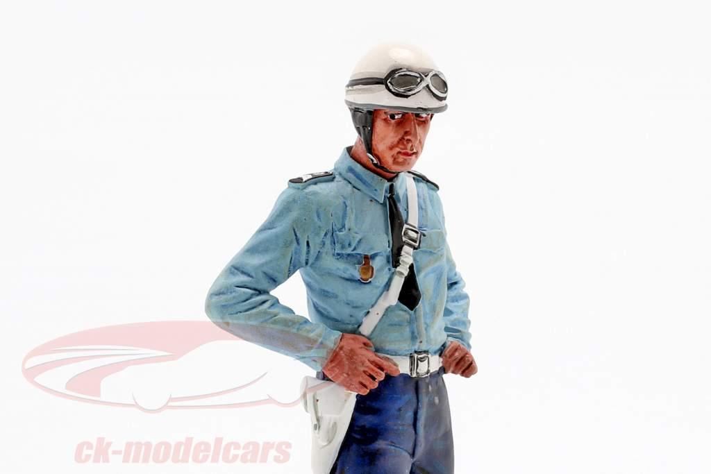 Motorcycle politieagent Paul figuur 1:18 LeMansMiniatures