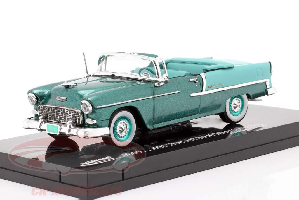 Chevrolet Bel Air Convertible Open Top 1955 neptun grün 1:43 Vitesse