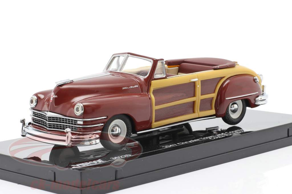 Chrysler Town and Country an 1947 costa rica marron 1:43 Vitesse