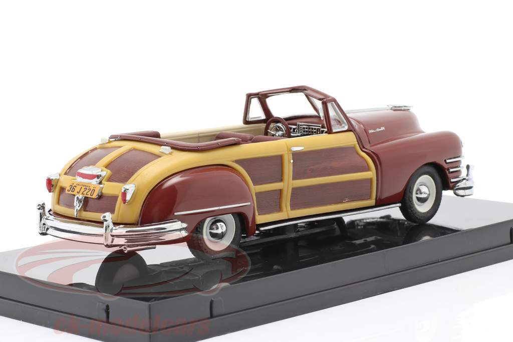 Chrysler Town and Country year 1947 costa rica brown 1:43 Vitesse