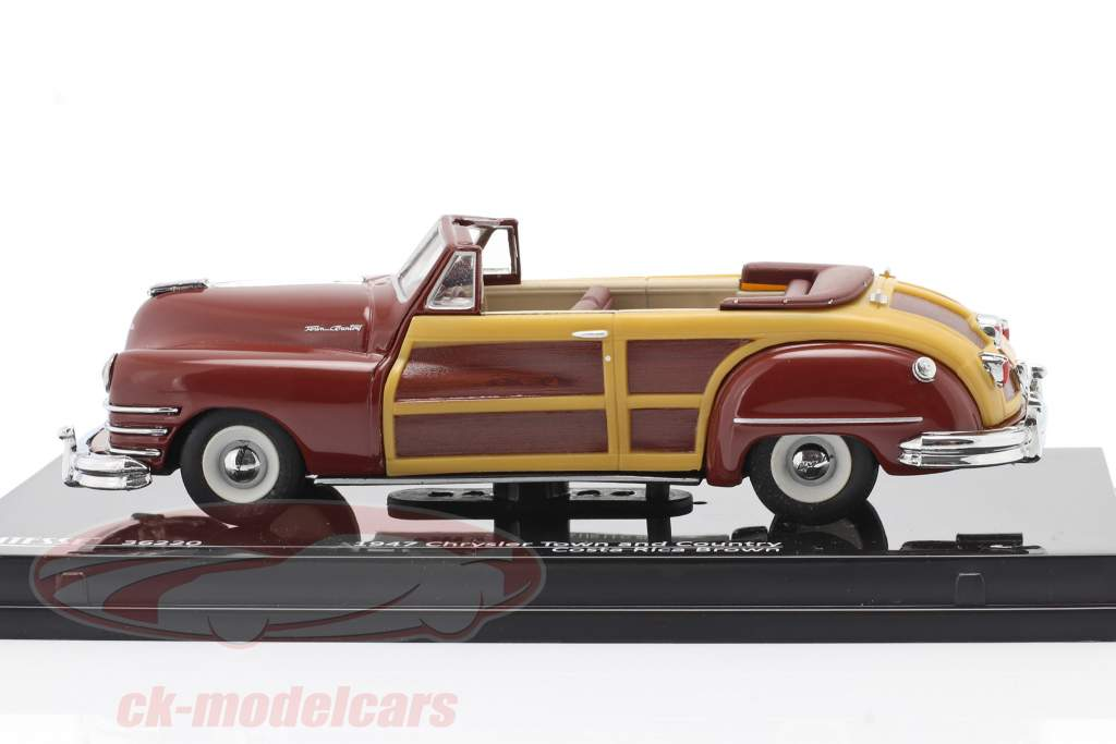 Chrysler Town and Country año 1947 costa rica marrón 1:43 Vitesse