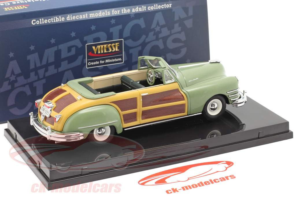 Chrysler Town and Country year 1947 heather green 1:43 Vitesse
