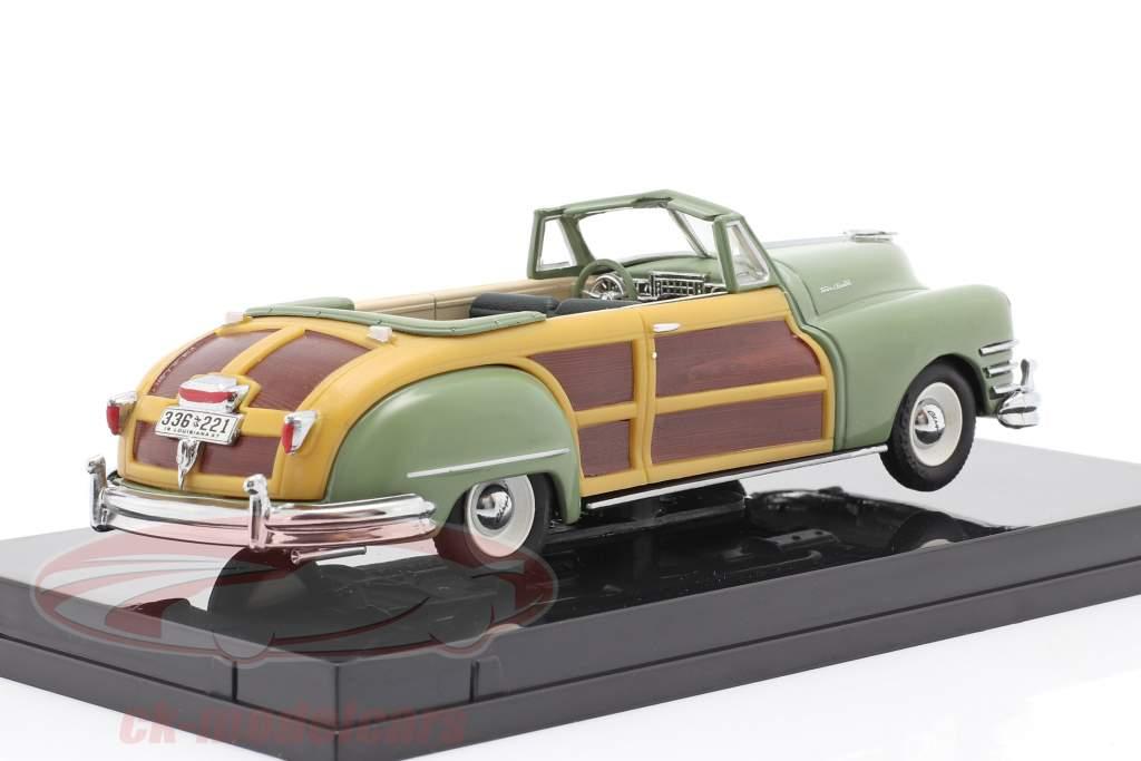 Chrysler Town and Country an 1947 bruyère vert 1:43 Vitesse