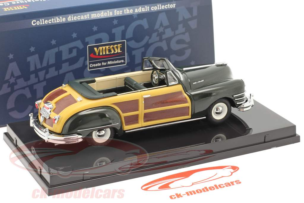 Chrysler Town and Country Baujahr 1947 meadow green 1:43 Vitesse