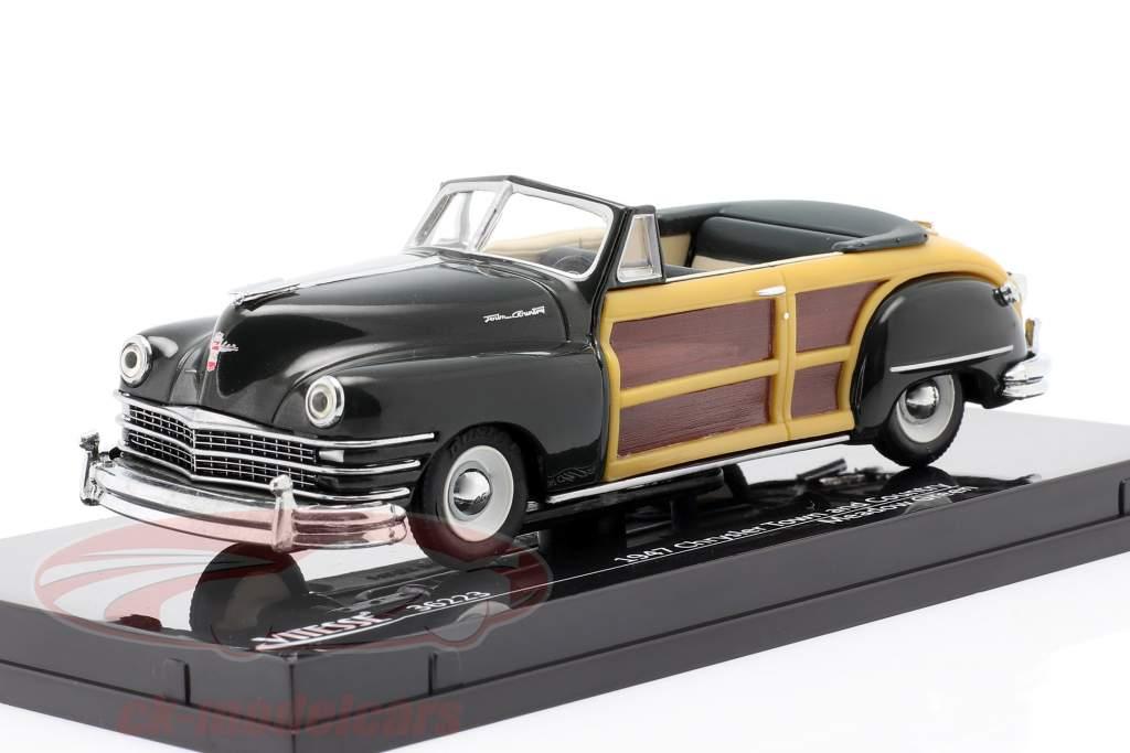Chrysler Town and Country Byggeår 1947 eng grøn 1:43 Vitesse