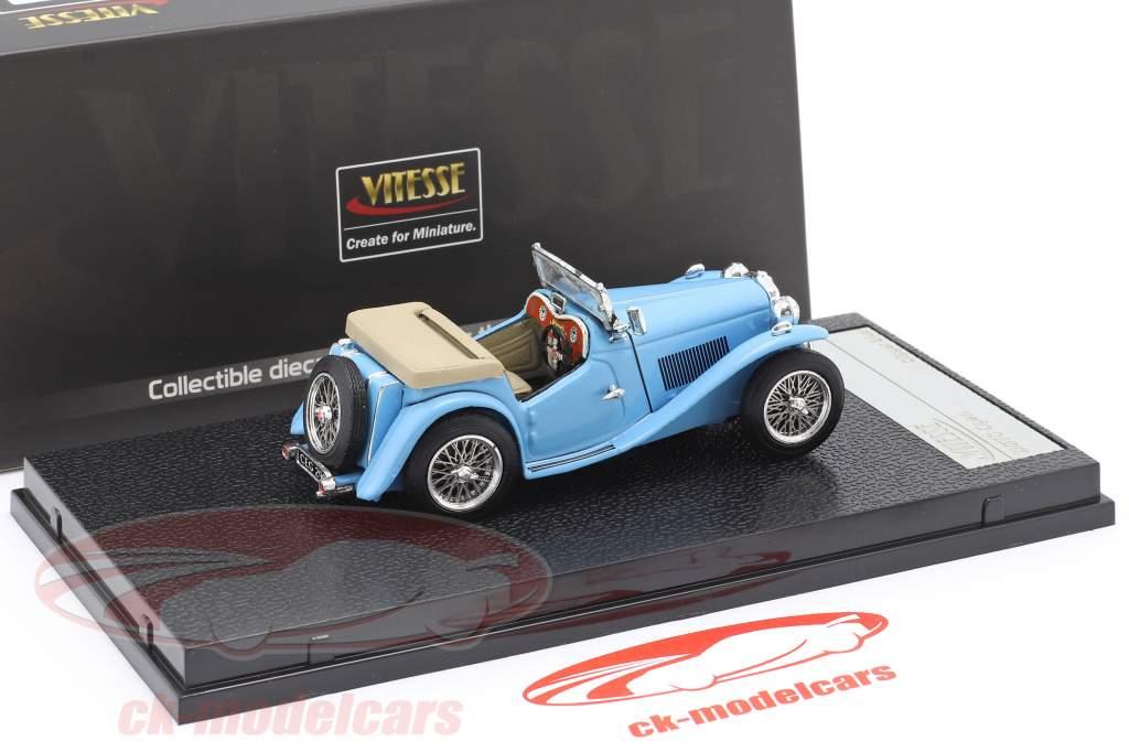 MGTC Open an 1946 tondeuse bleu 1:43 Vitesse