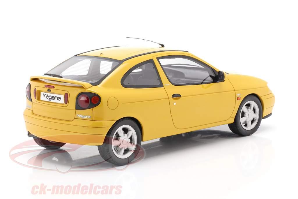 Renault Megane Mk1 Coupe 2.0 16V Bouwjaar 1999 zonnebloem geel 1:18 OttOmobile