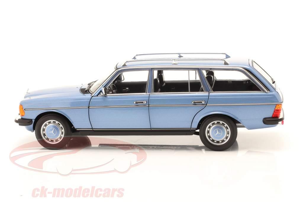 Mercedes-Benz 200 T-Modell (S123) Baujahr 1980-1985 diamantblau 1:18 Norev