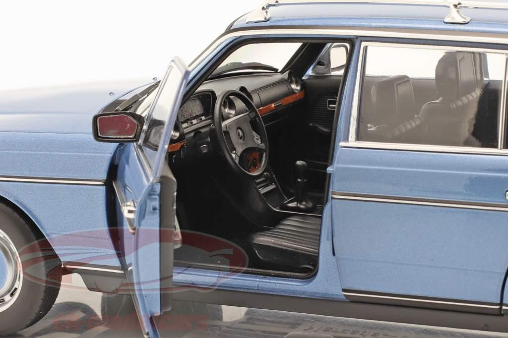 Mercedes-Benz 200 T-Modell (S123) Anno di costruzione 1980-1985 blu diamante 1:18 Norev