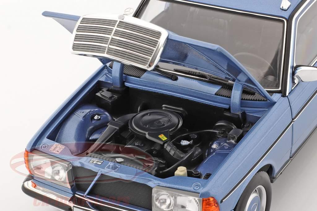 Mercedes-Benz 200 T-Modell (S123) Año de construcción 1980-1985 diamante azul 1:18 Norev