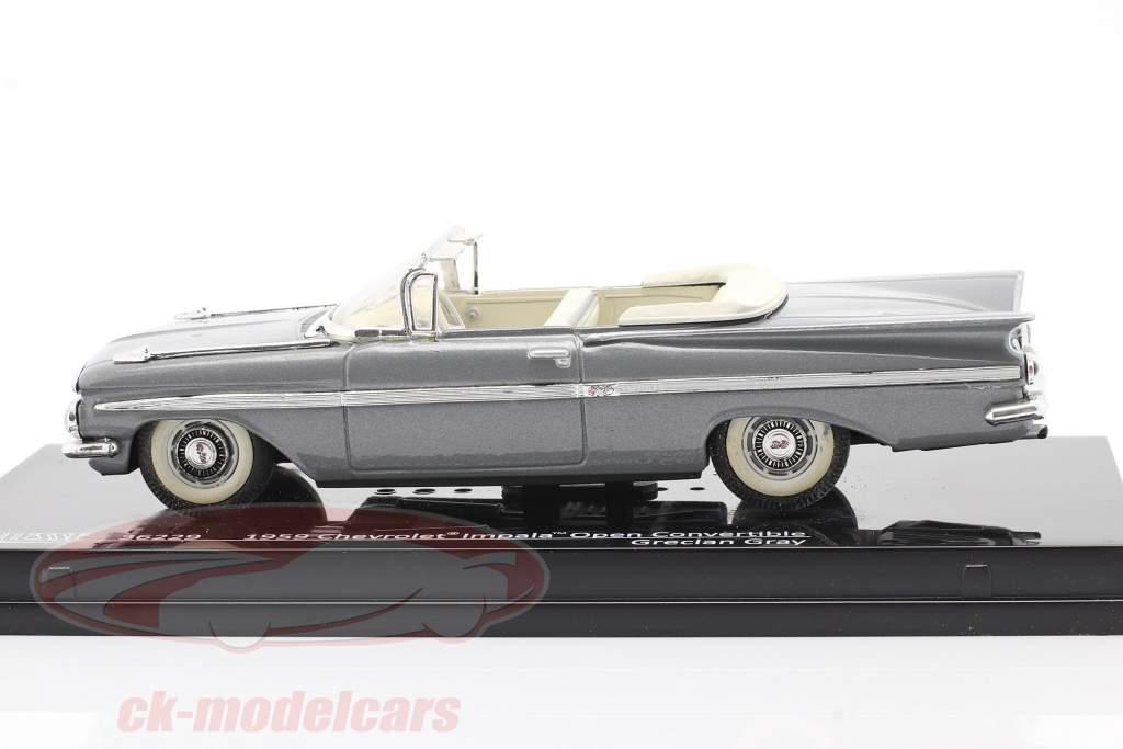 Chevrolet Impala Open Convertible an 1959 gris 1:43 Vitesse