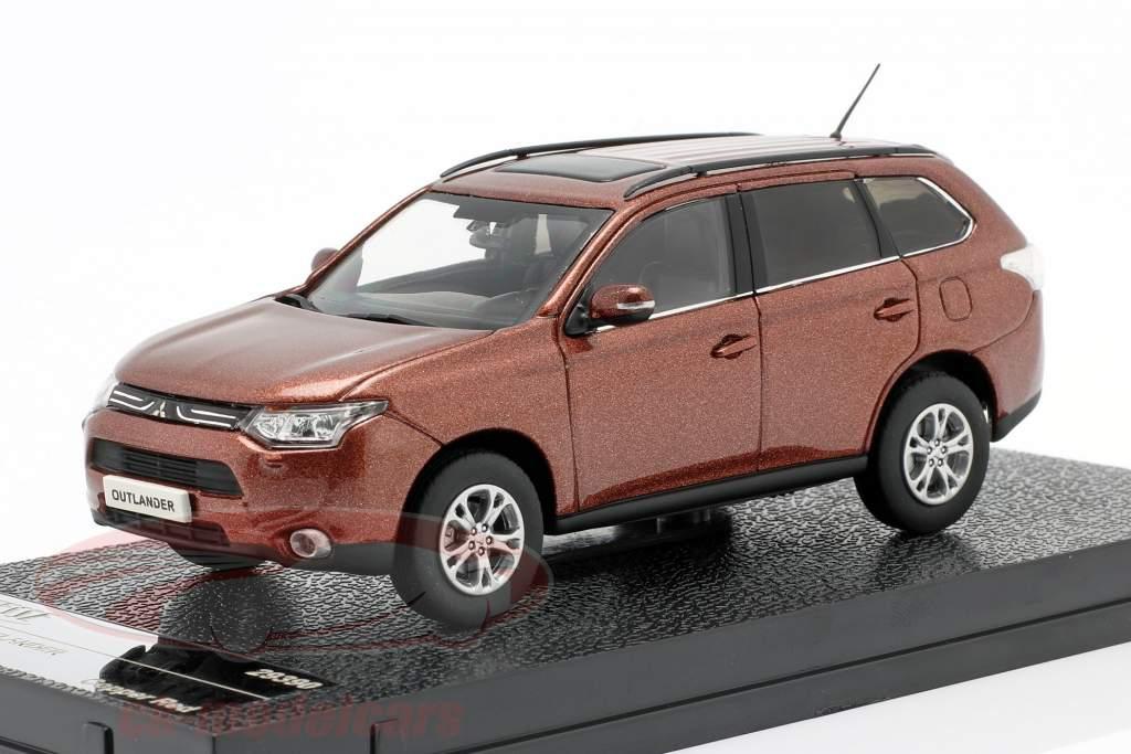 Mitsubishi Outlander an 2010 cuivre rouge 1:43 Vitesse