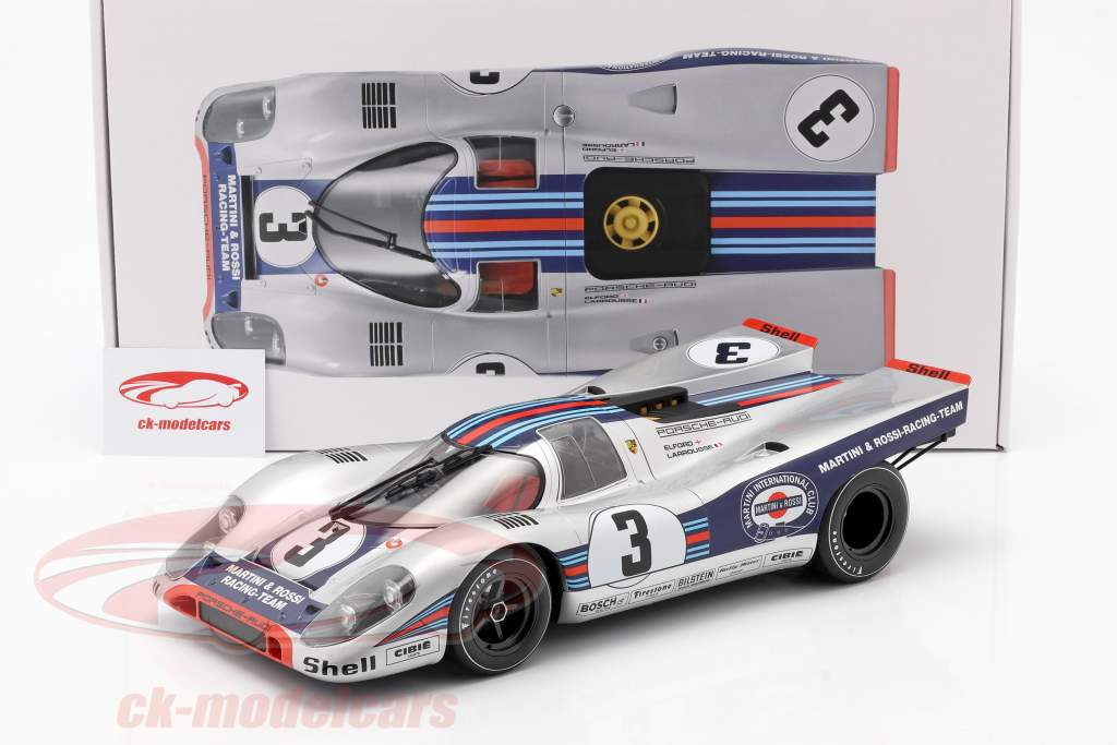 Porsche 917K #3 gagnant 12h Sebring 1971 Elford, Larrousse 1:12 Norev