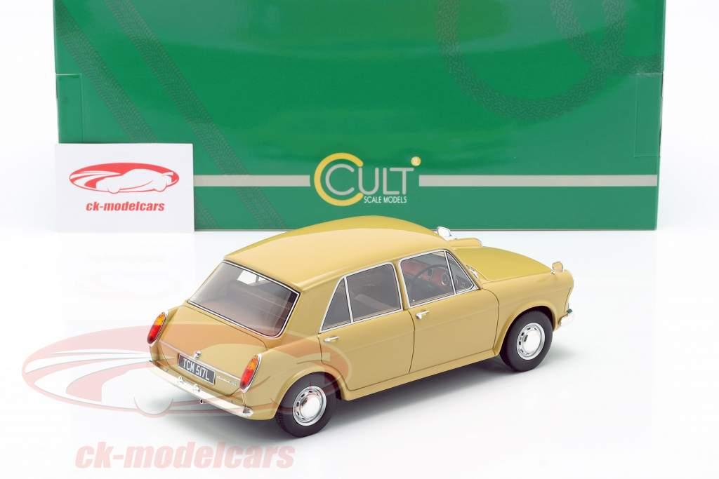 Austin 1100 Byggeår 1969 gylden gul 1:18 Cult Scale