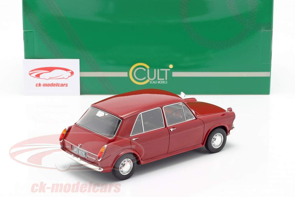 Austin 1100 year 1969 red 1:18 Cult Scale